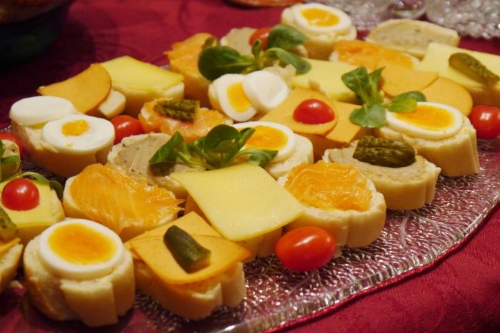 Sandwiches Belegtes Baguette