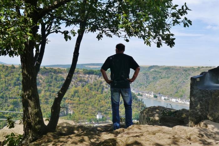 Rheinblick von Loreley